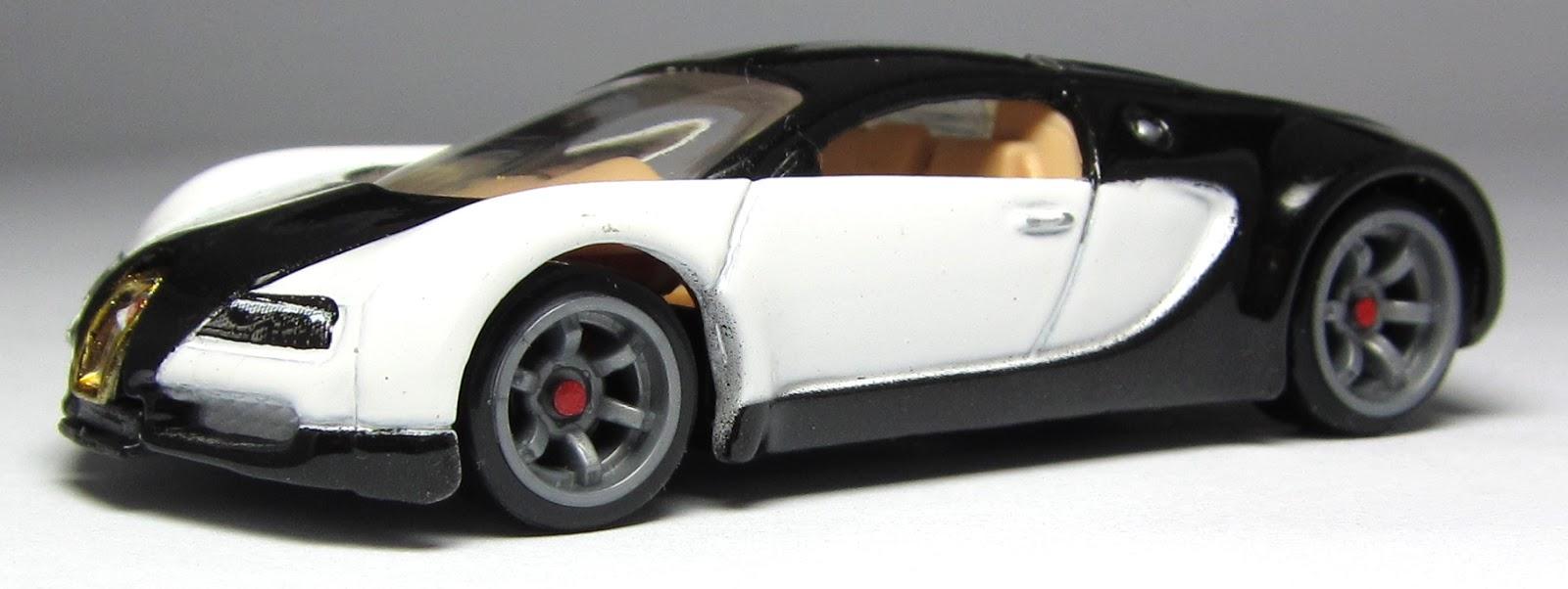 Model of the Day: Hot Wheels Speed Machines Bugatti Veyron ...