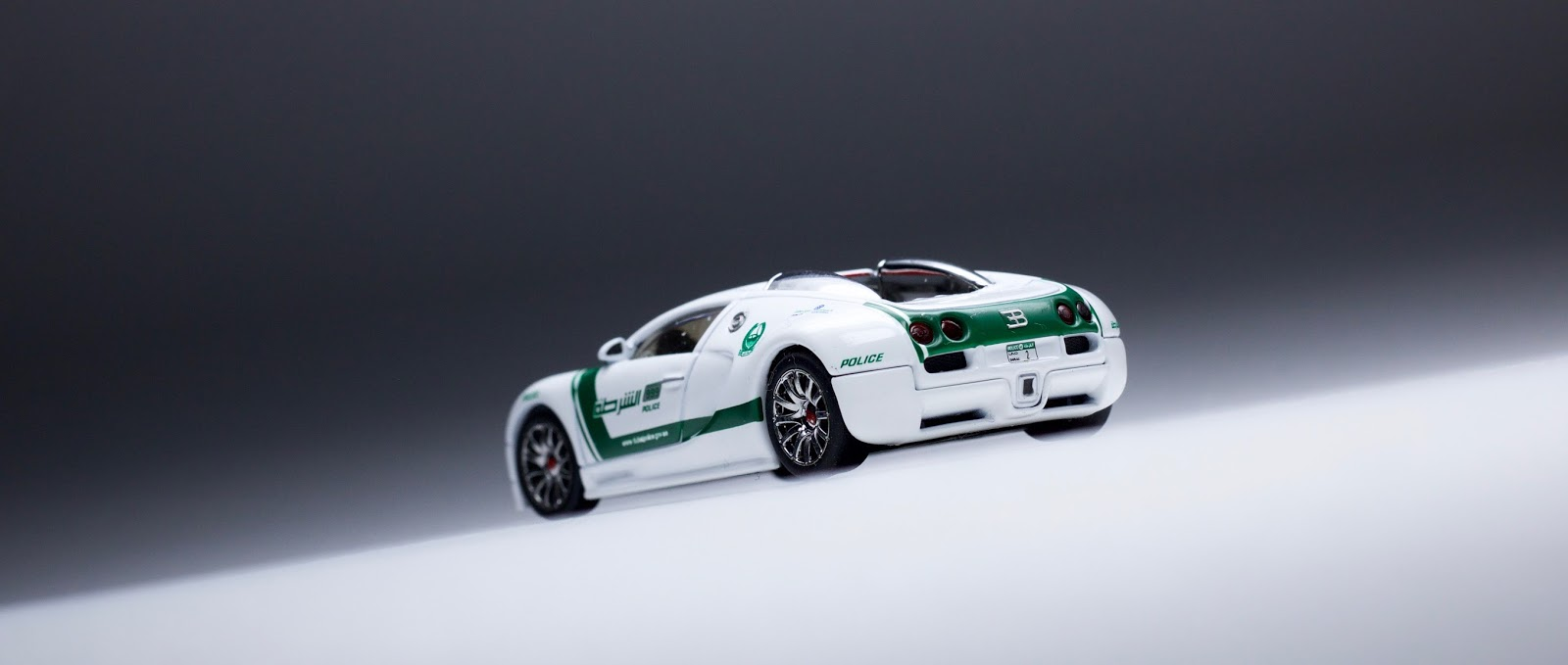 The Auto Art Bugatti Veyron Dubai Police Car Is Upper Echelon Diecast Lamleygroup